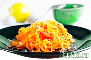 рецепт салата из тыквы
