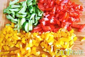шинкованные овощи