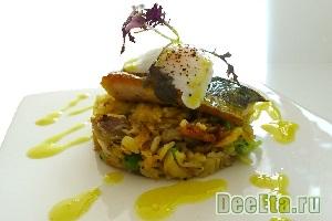 Рис карри со скумбрией